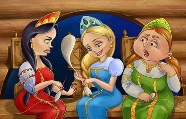 3 девицы под окном