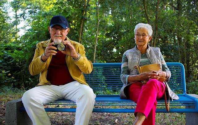 бабушка с дедушкой