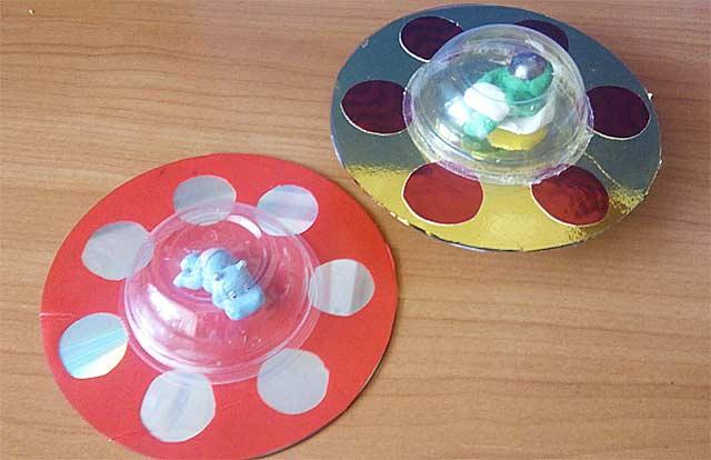 игрушки из дисков