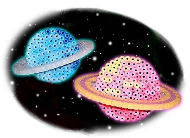 планета в технике квиллинг