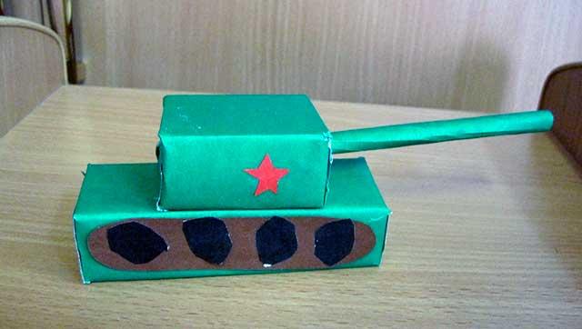 бумажный танк