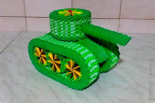 танк зеленый