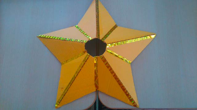 поделка звезды