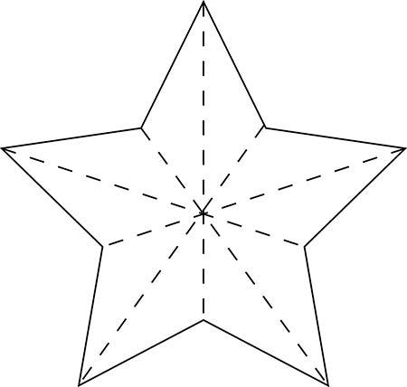 рисунок звезда