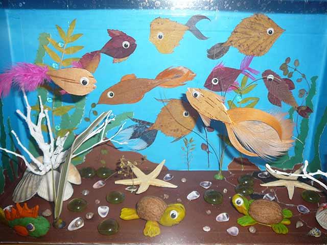 аквариум поделка