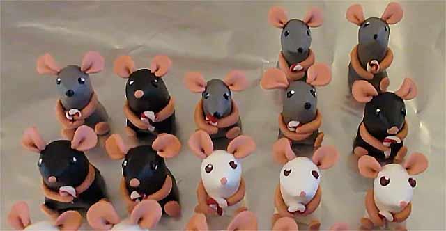 мышки поделки