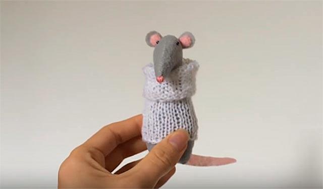 поделка крыса