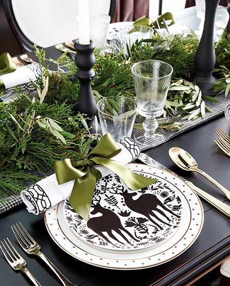 стол новогодний
