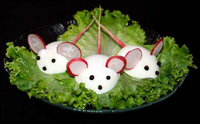 яйцо мышка