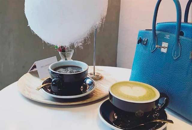 кофе с облачком