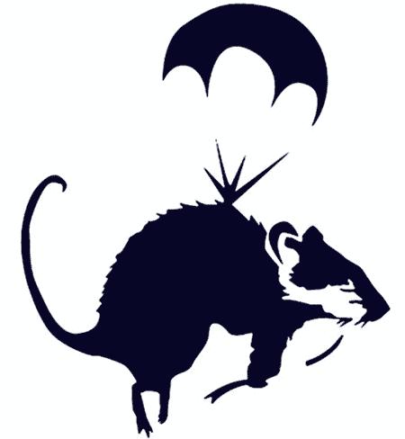 вытынанка крыса