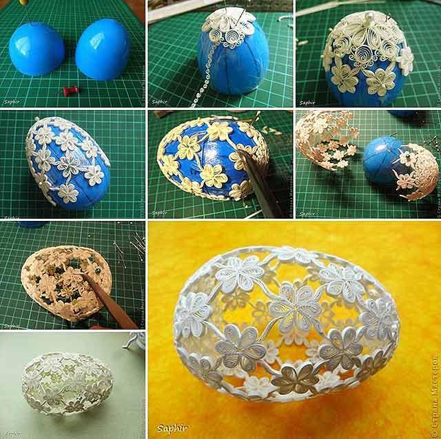 квиллинг яйца