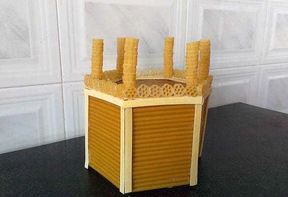 макароновая коробочка