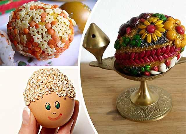 крупяные яйца