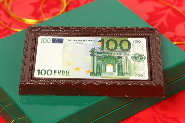 денежная шоколадка
