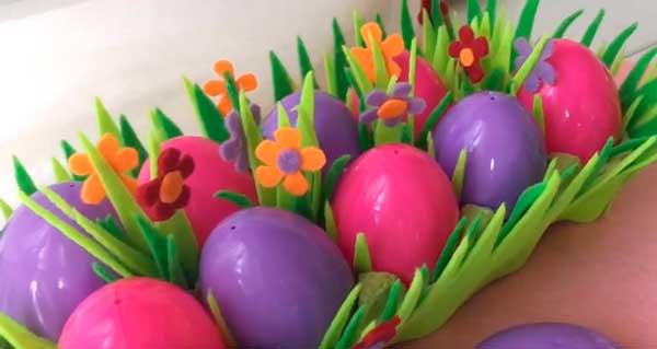корзинка с цветочками