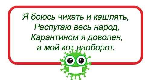 частушка про коронавирус