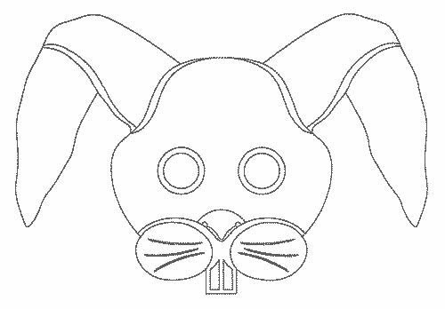 новогодняя маска на голову