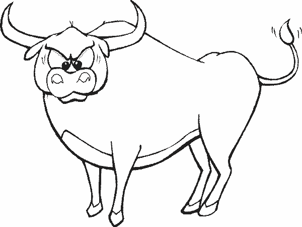 бык для срисовки