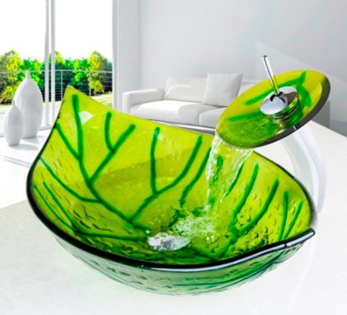 зеленая раковина